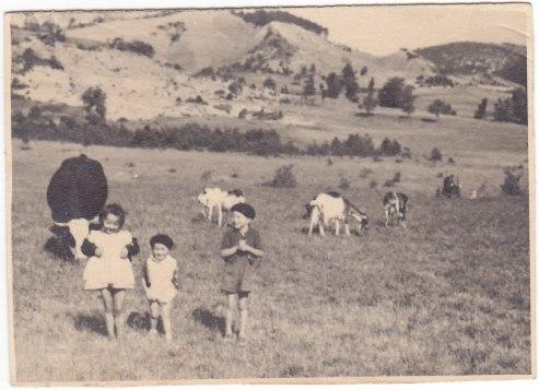 La Plaine 1950 - Monique Gérard Jean-Guy