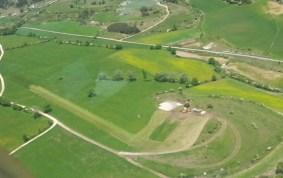 Vue aérienneTravaux terrassement Saint Martin