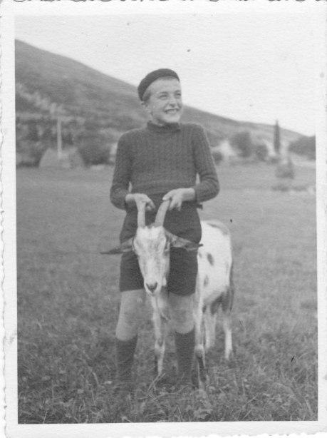 Lilou et la chèvre
