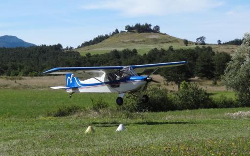 ULM atterrissage