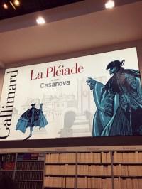 Casanova, star de la Pléiade