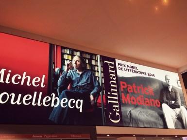 Houellebecq le provocateur et Modiano le discret, côte à côte chez Gallimard Flammarion