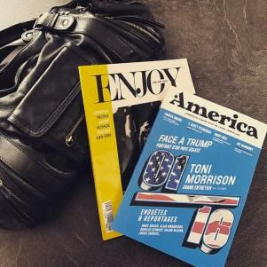 Nouveaux magazines : America et Enjoy life with style