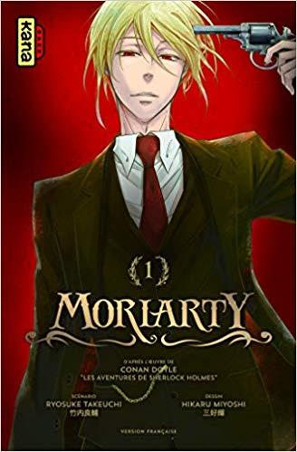 «Moriarty tome 1» par Ryosuke Takeuchi et Hikaru Miyoshi