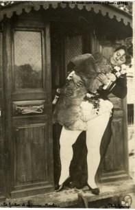 La Goulue et sa lionne Coralie
