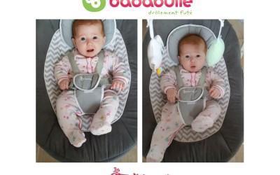 Fini de bercer bébé avec la balancelle BADABULLE