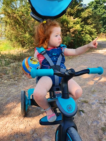 Tricycle Globber Explorer 4 en 1
