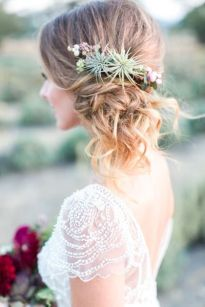 Sarasota hair stylist beach wedding bohemian wedding 2