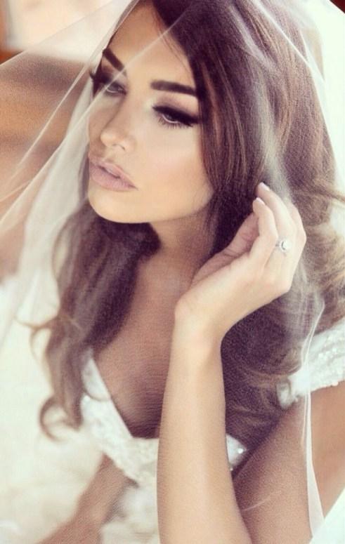 Bride hair and make up by Les Ciseaux St. Armands