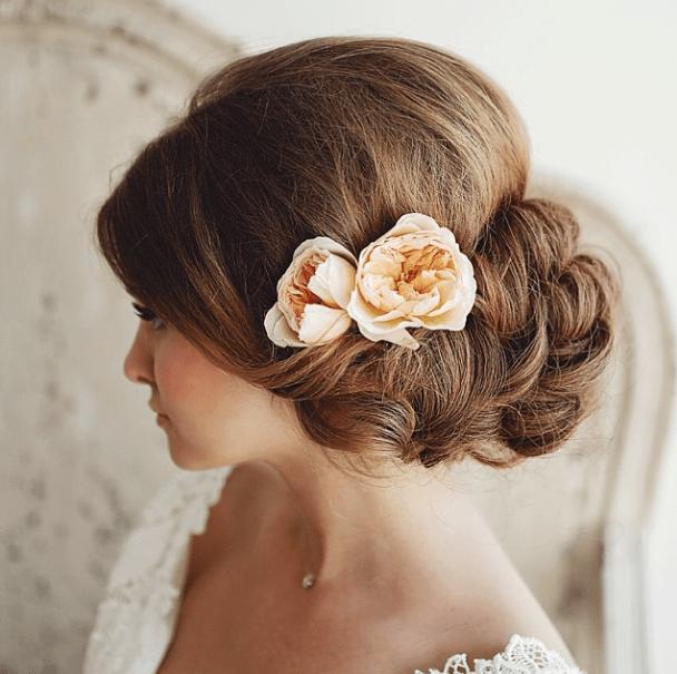 wedding up-do hair salon sarasota St Armands