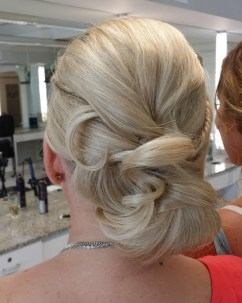 Sarasota wedding bridal hair salon