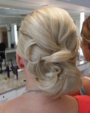 Sarasota wedding bridal hair salon