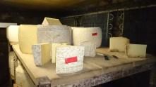 La visite se termine sur cette incroyable variété de fromages. Les saveurs et les odeurs ne sont pas si loin de vous, sachez toutefois une chose, le salers à un goût plus rond et une saveur fleurie à tomber à la renverse. Je vous laisse faire votre choix !