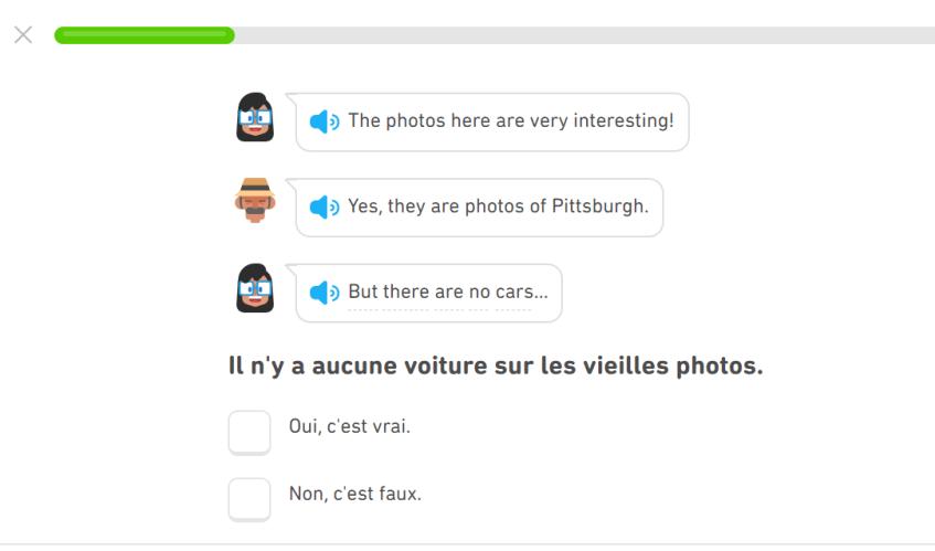 Duolingo histoires