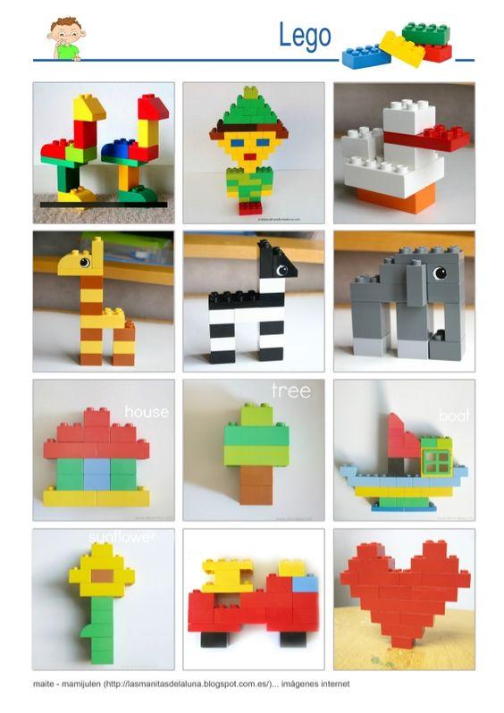 constructions lego contrôle inhibiteur