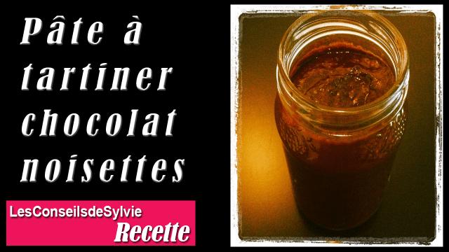 Pâte à Tartiner Chocolat-Noisettes Maison Facile – Recette