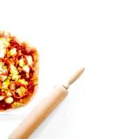 Pizza à la farine complète - Chorizo & Légumes du soleil