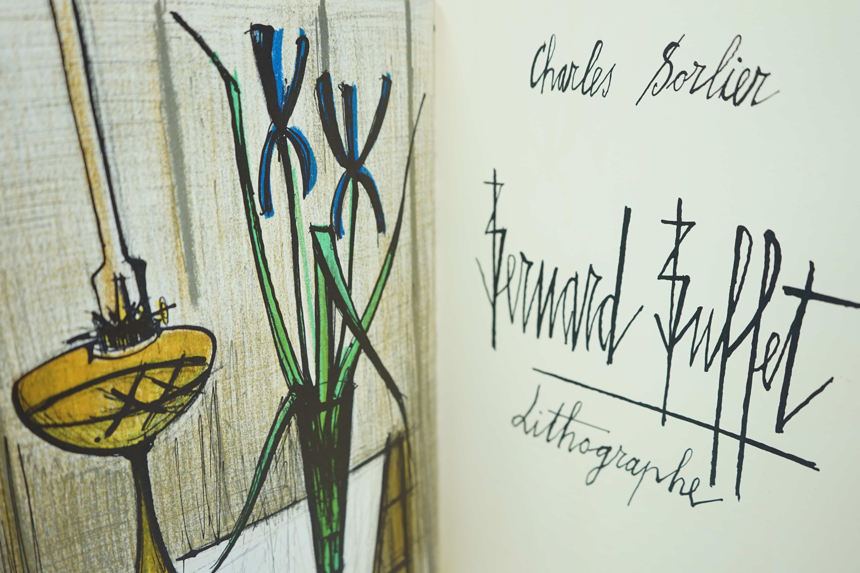 Intérieur Livre d'Art Bernard Buffet Lithographe Par Charles Sorlier