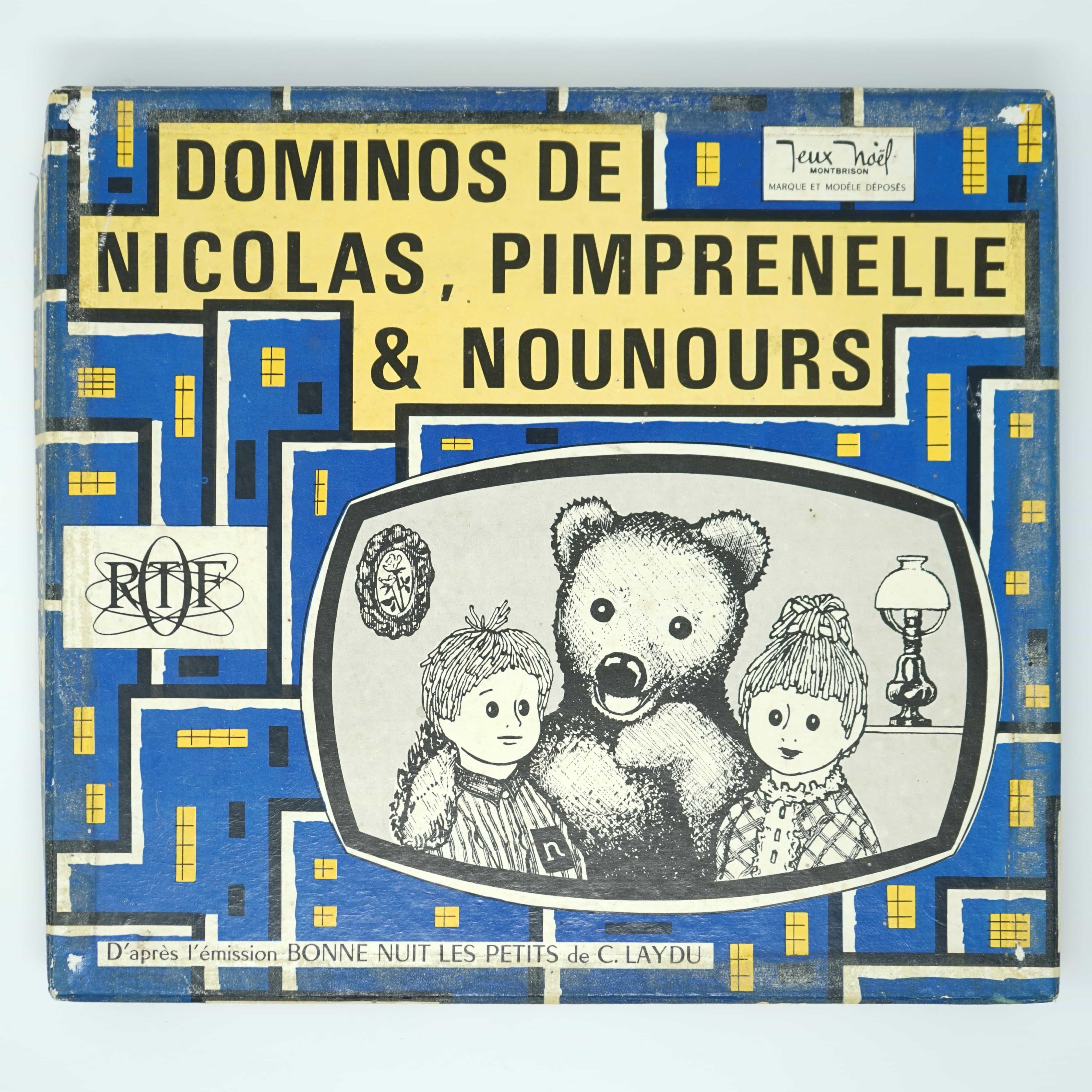 Dominos Nicolas Pimprenelle et Nounours