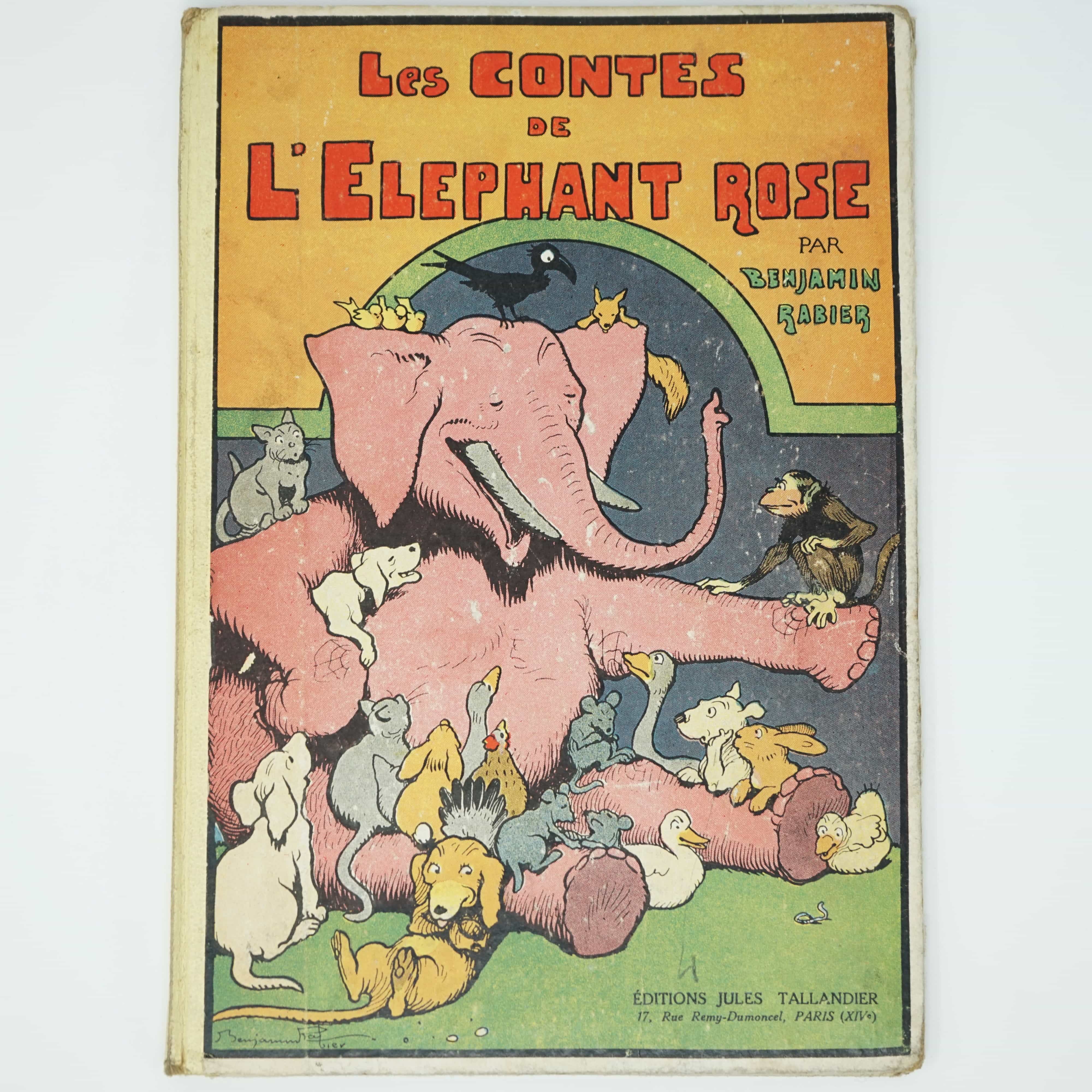 Les Contes de l'éléphant Rose