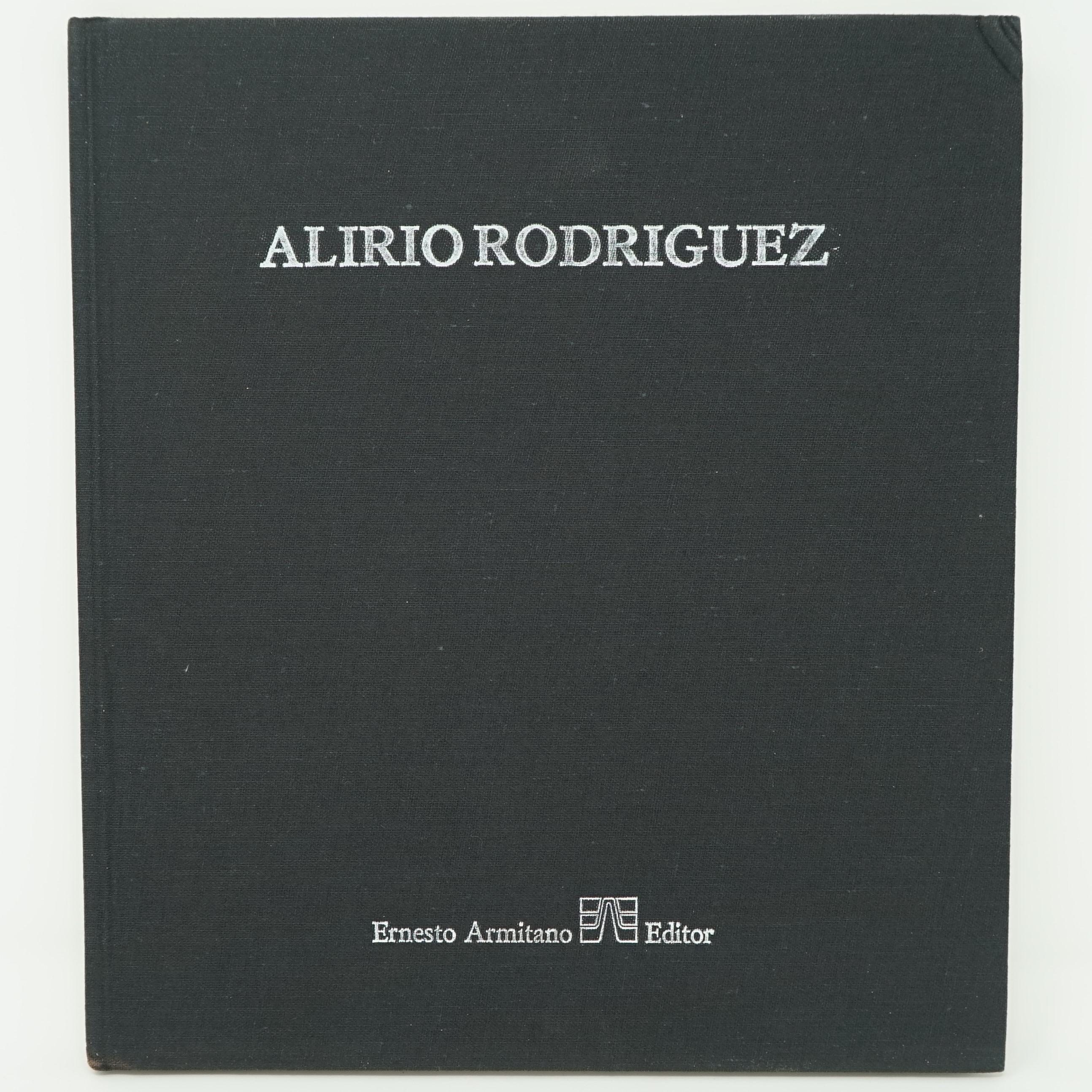 Livre Alirio Rodriguez Original et Dédicacé