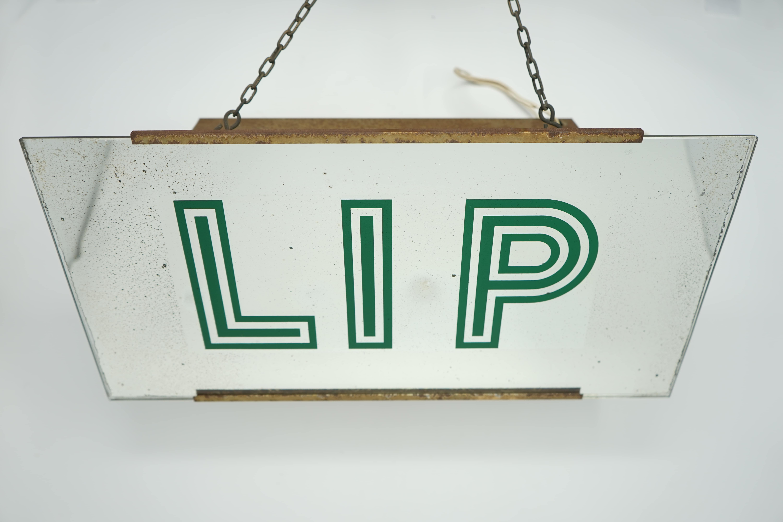 Enseigne Lumineuse LIP Ancienne Entière