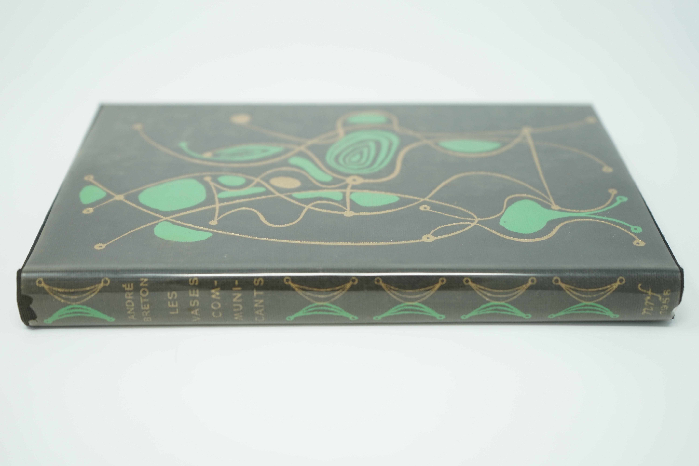 Livre Les Vases Communicants d'André Breton Numéroté 6/300 Tranche