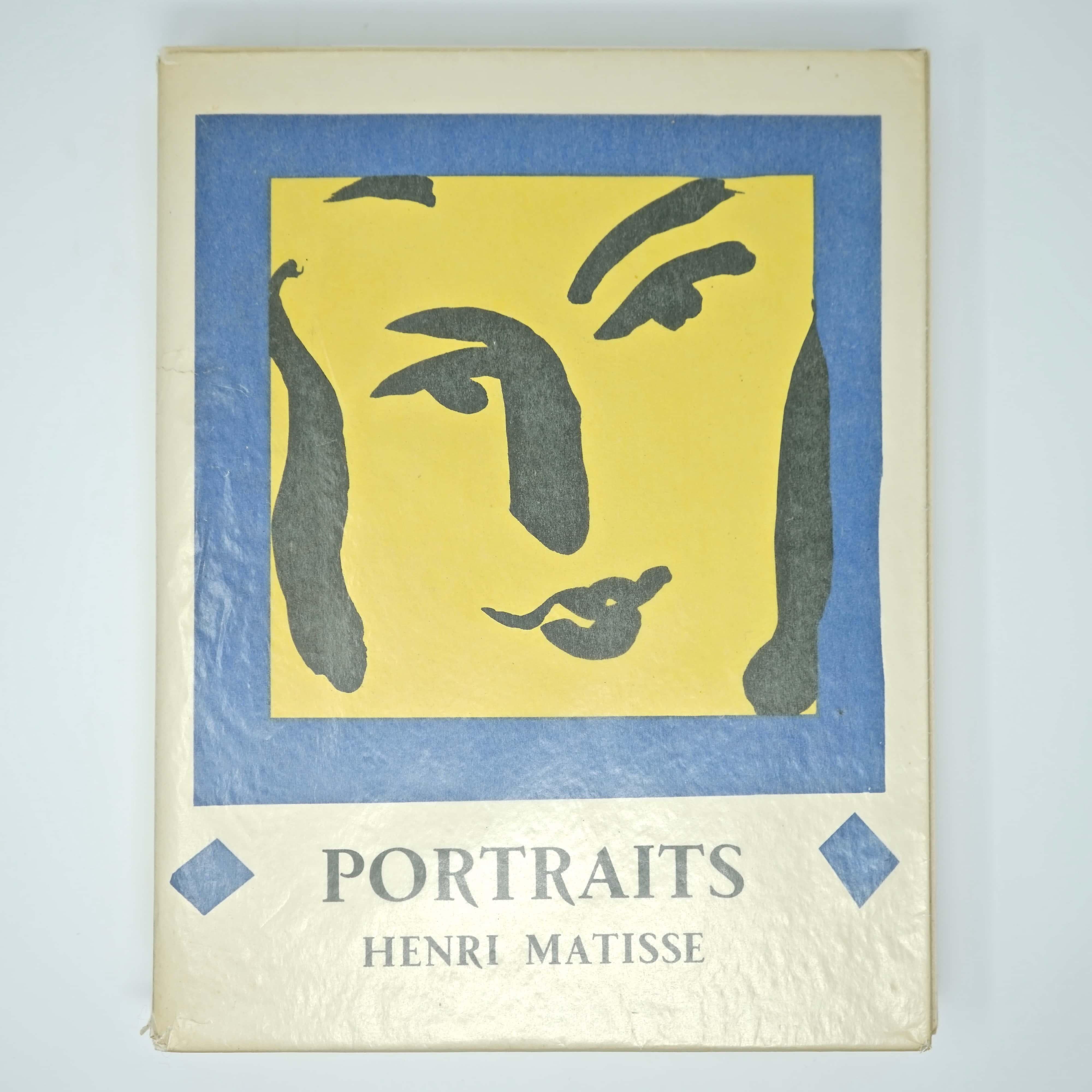 Livre d'Art Portraits de Henri Matisse Couverture