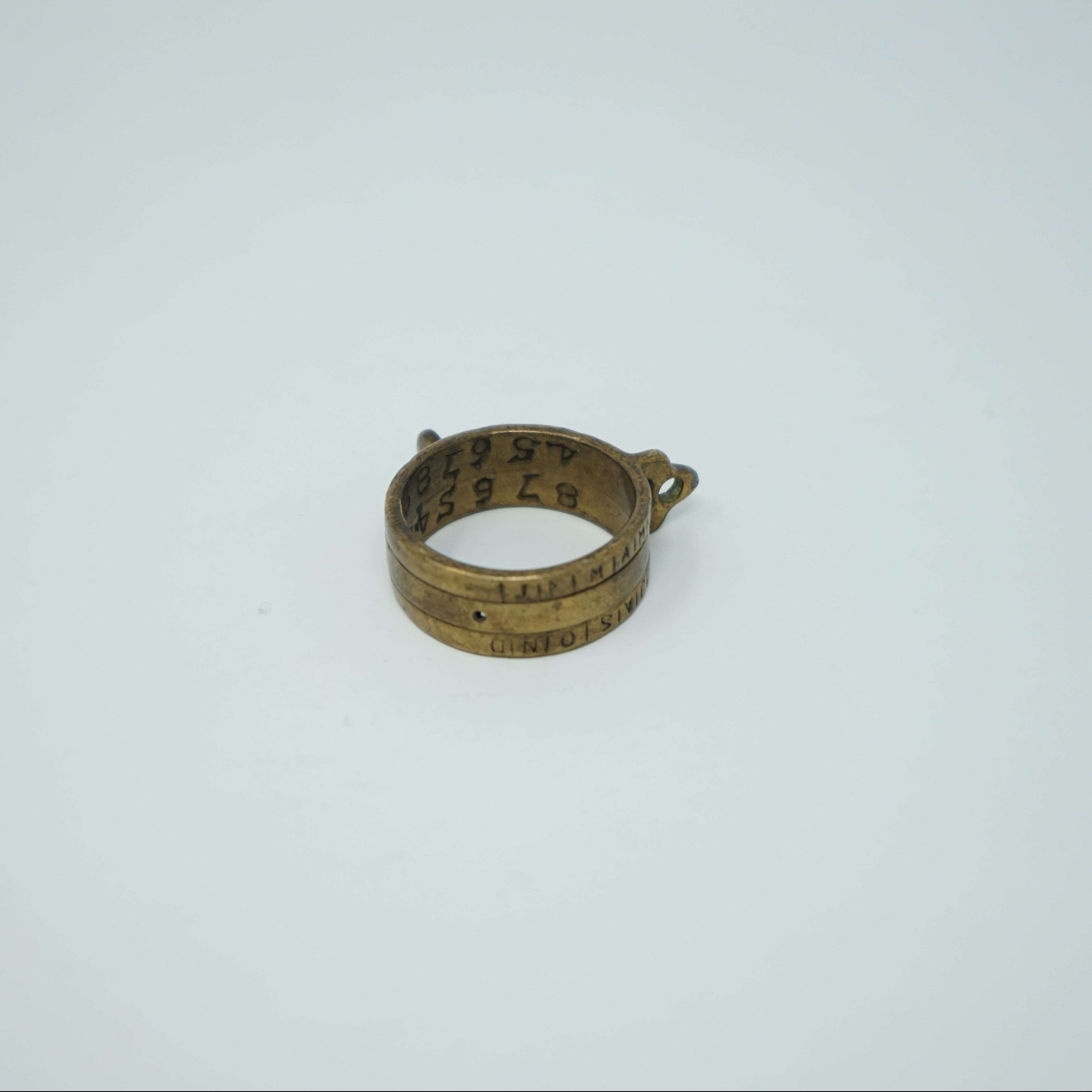 Cadran Solaire Portatif en Bronze