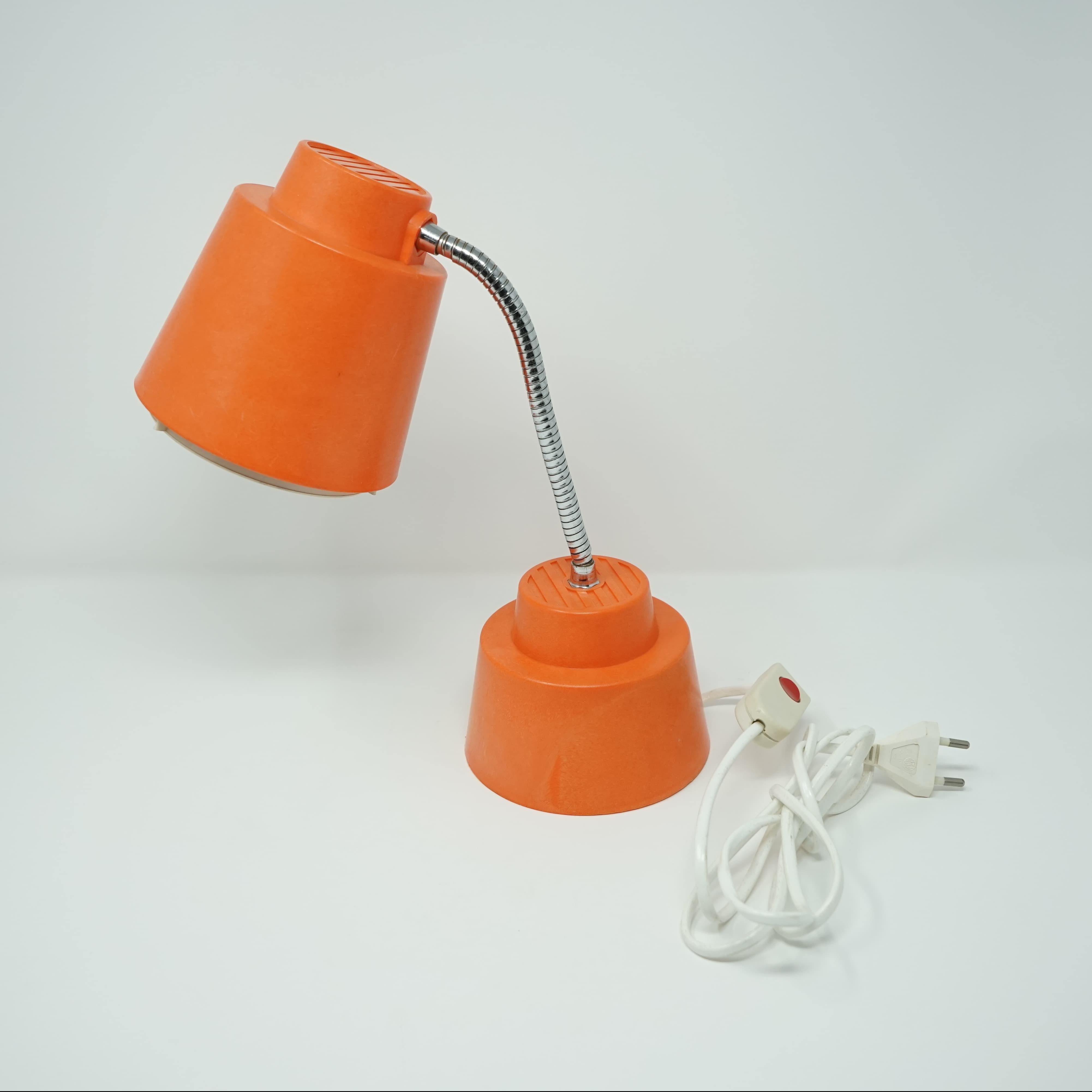 Lampe Armélec France Orange
