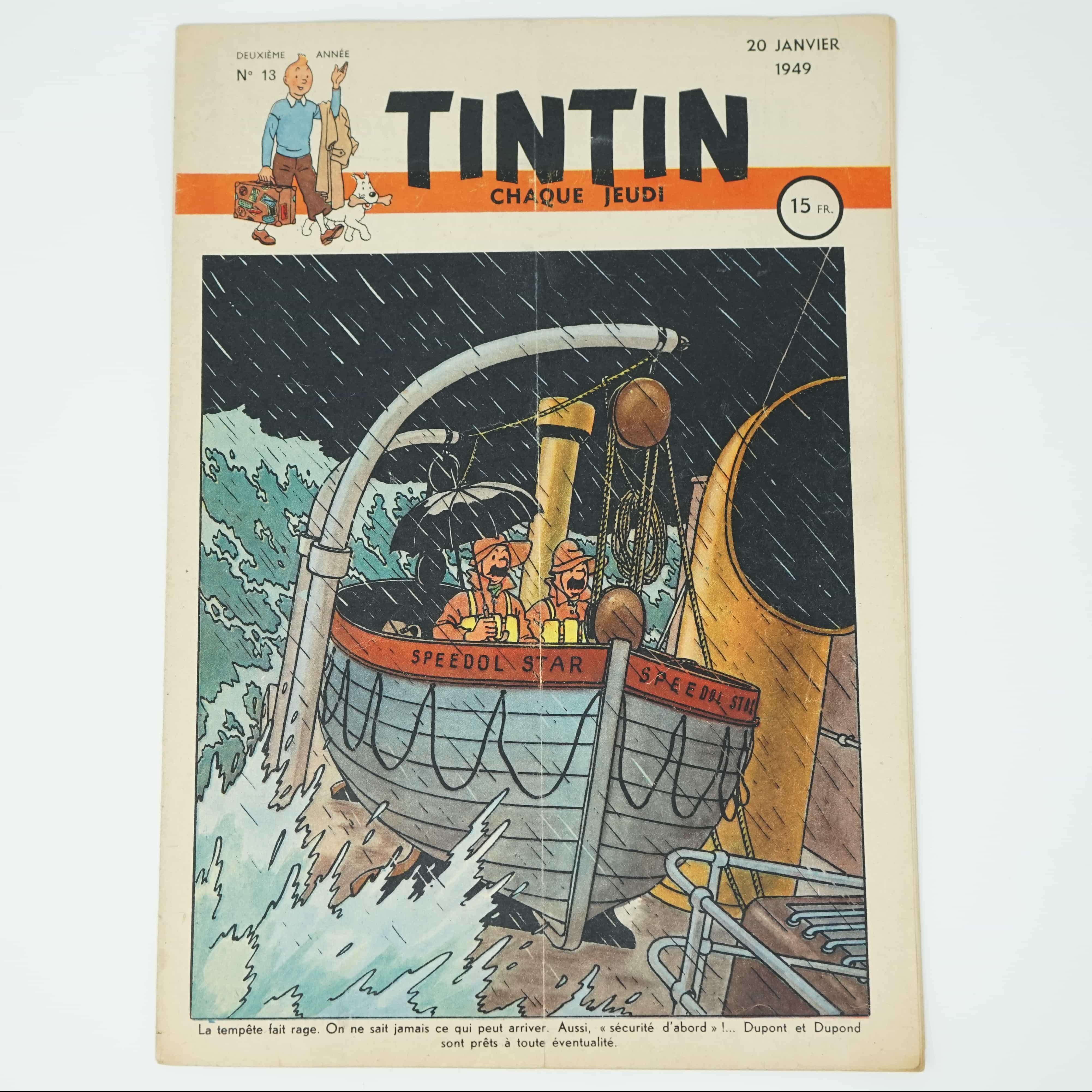 Tintin Édition Française N°13