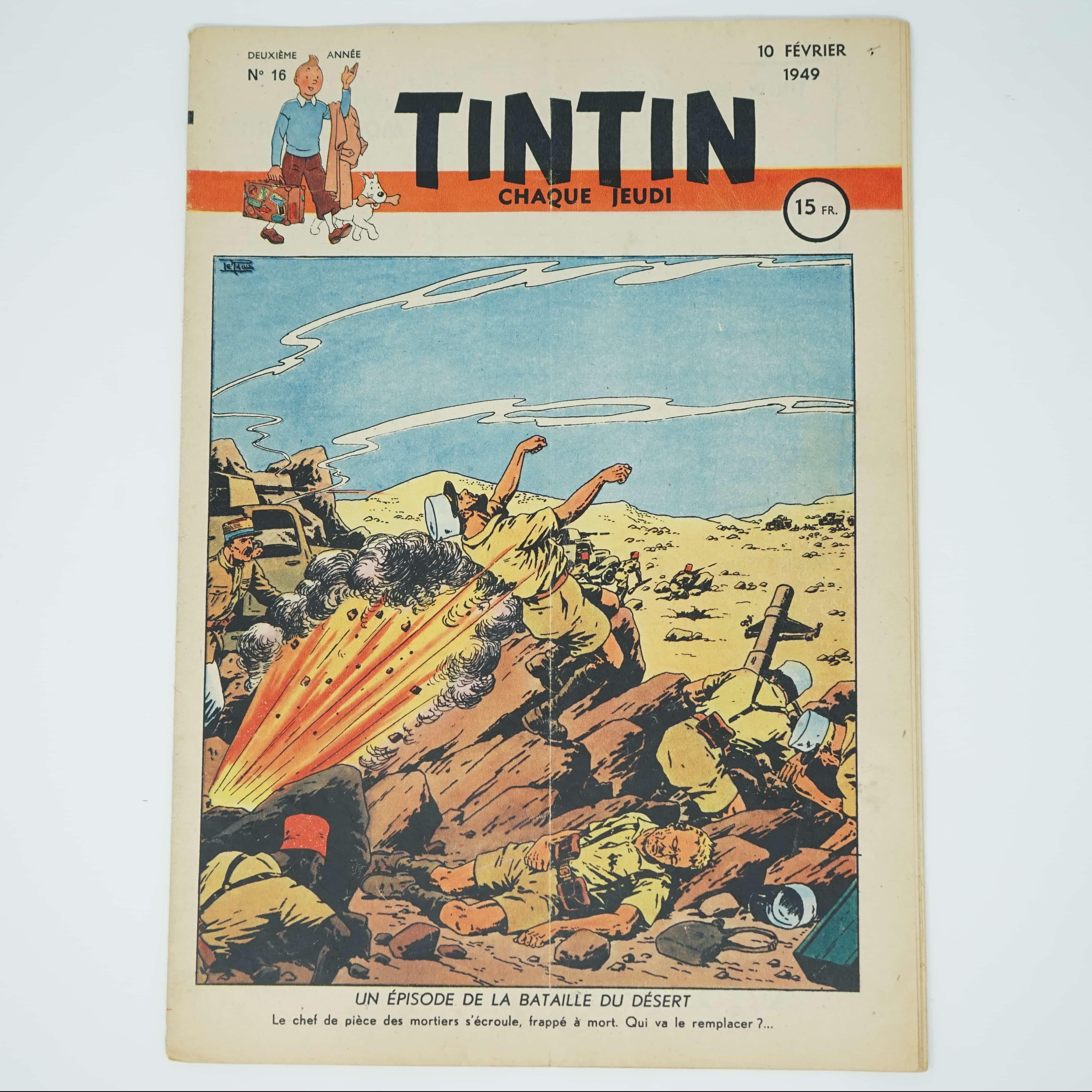 Tintin Édition Française N°16