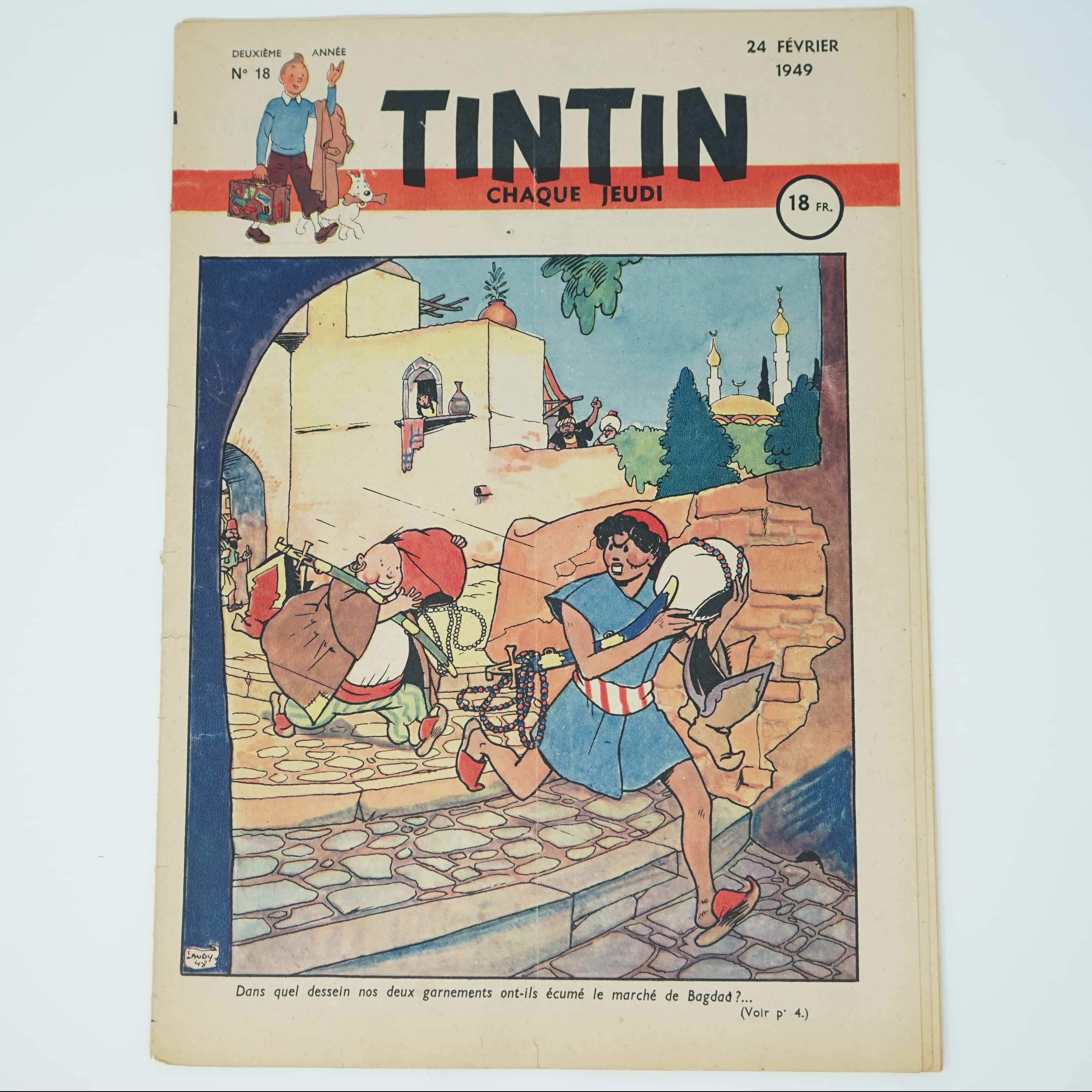 Tintin Édition Française N°18