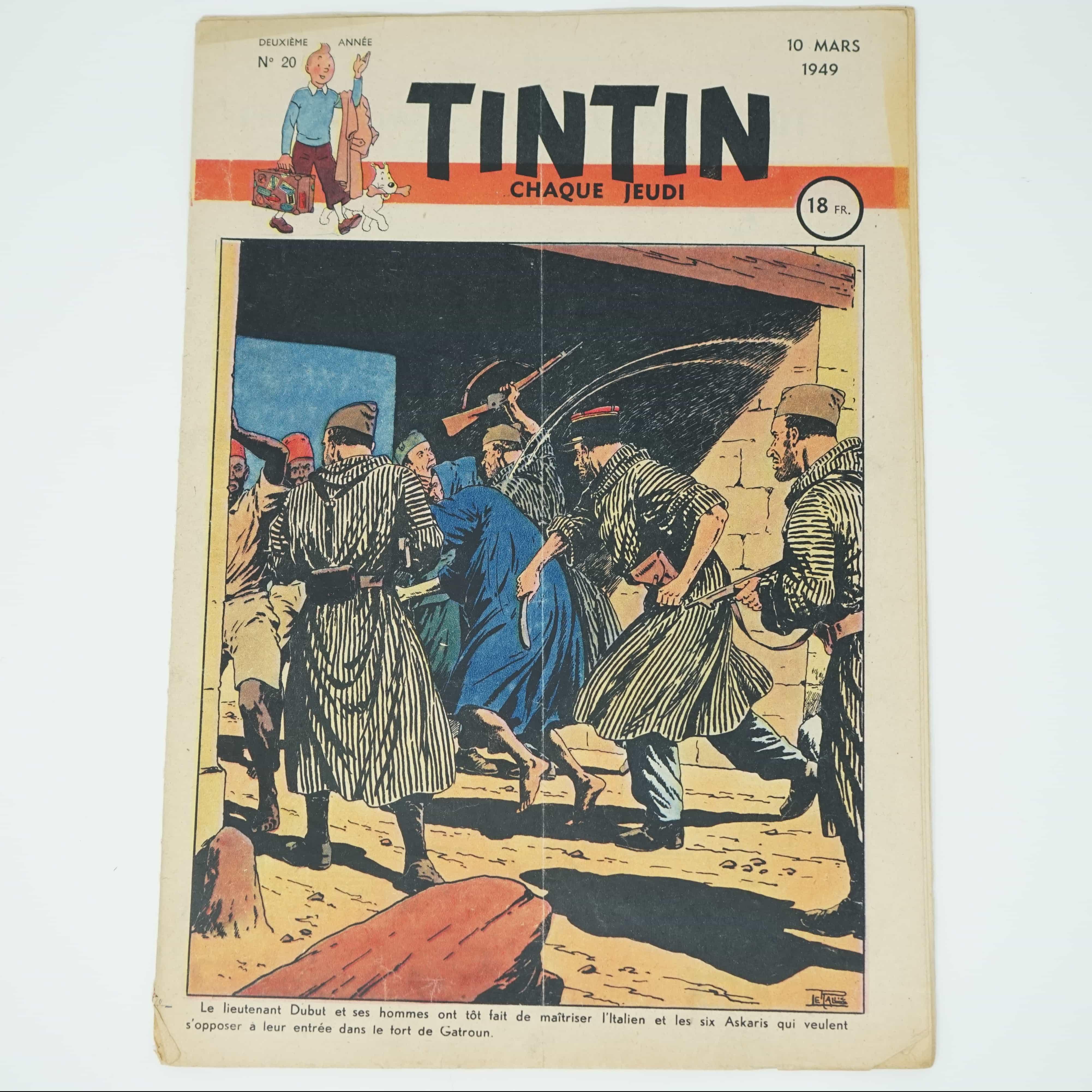 Tintin Édition Française N°20