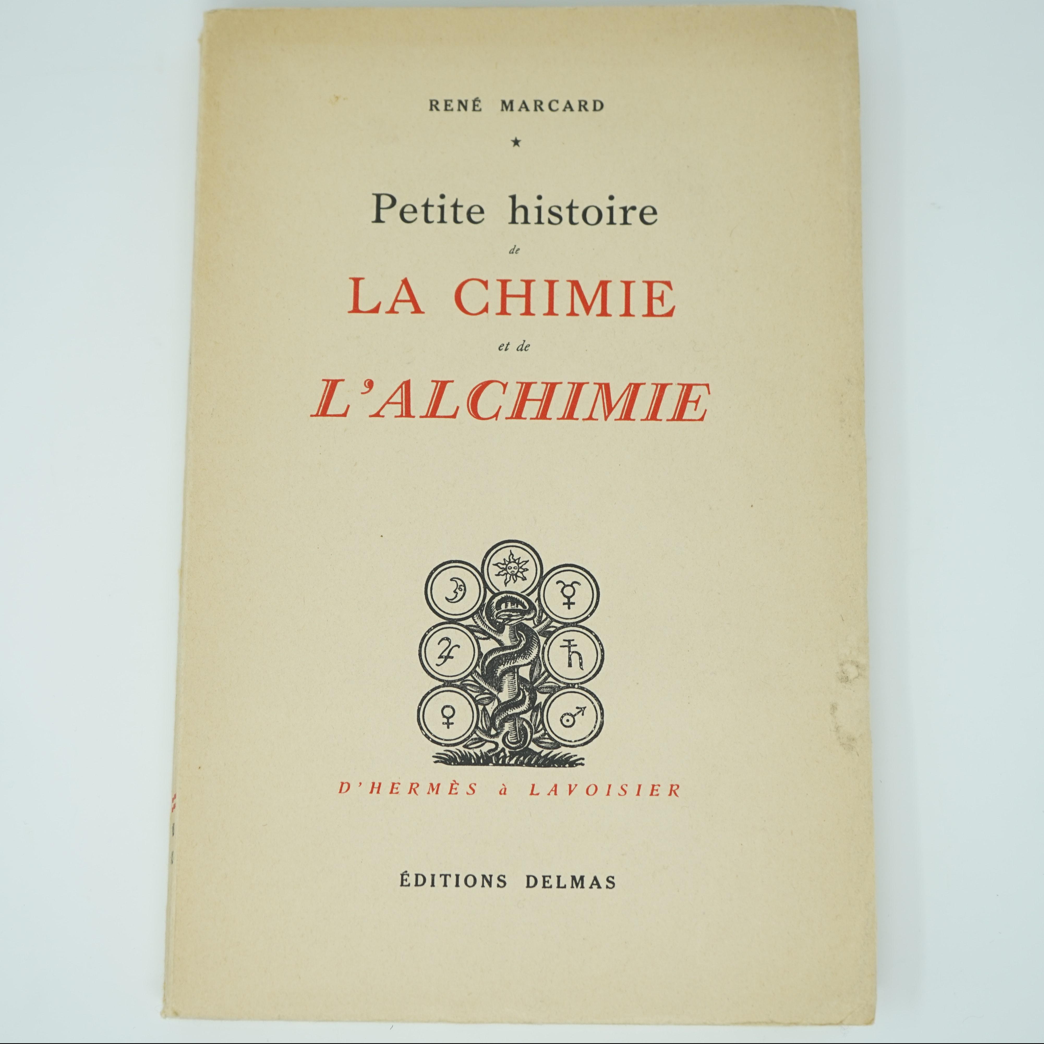 Petite Histoire de la Chimie et de l'Alchimie