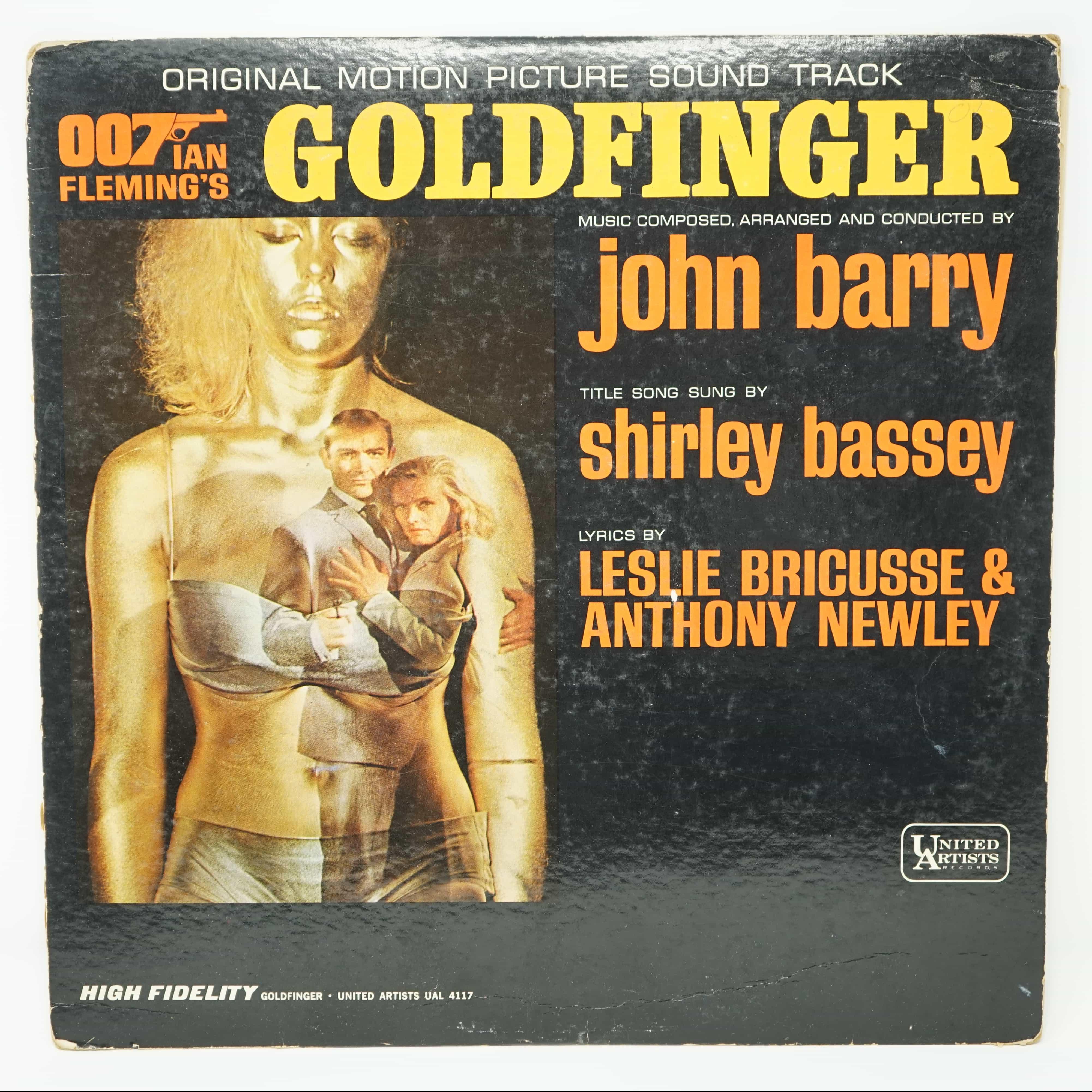 Disque Vinyle Goldfinger