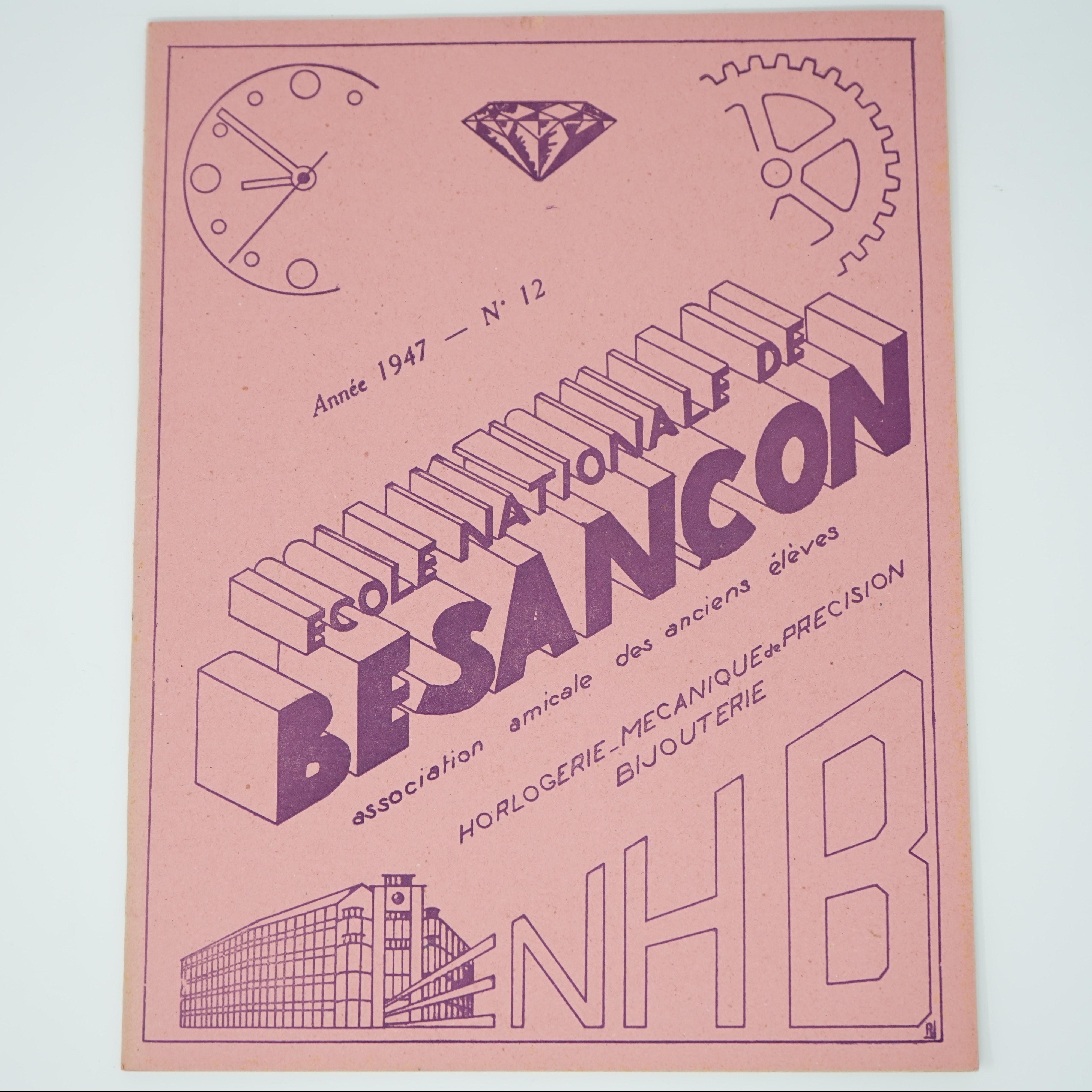 École Nationale de Besançon 1947/48