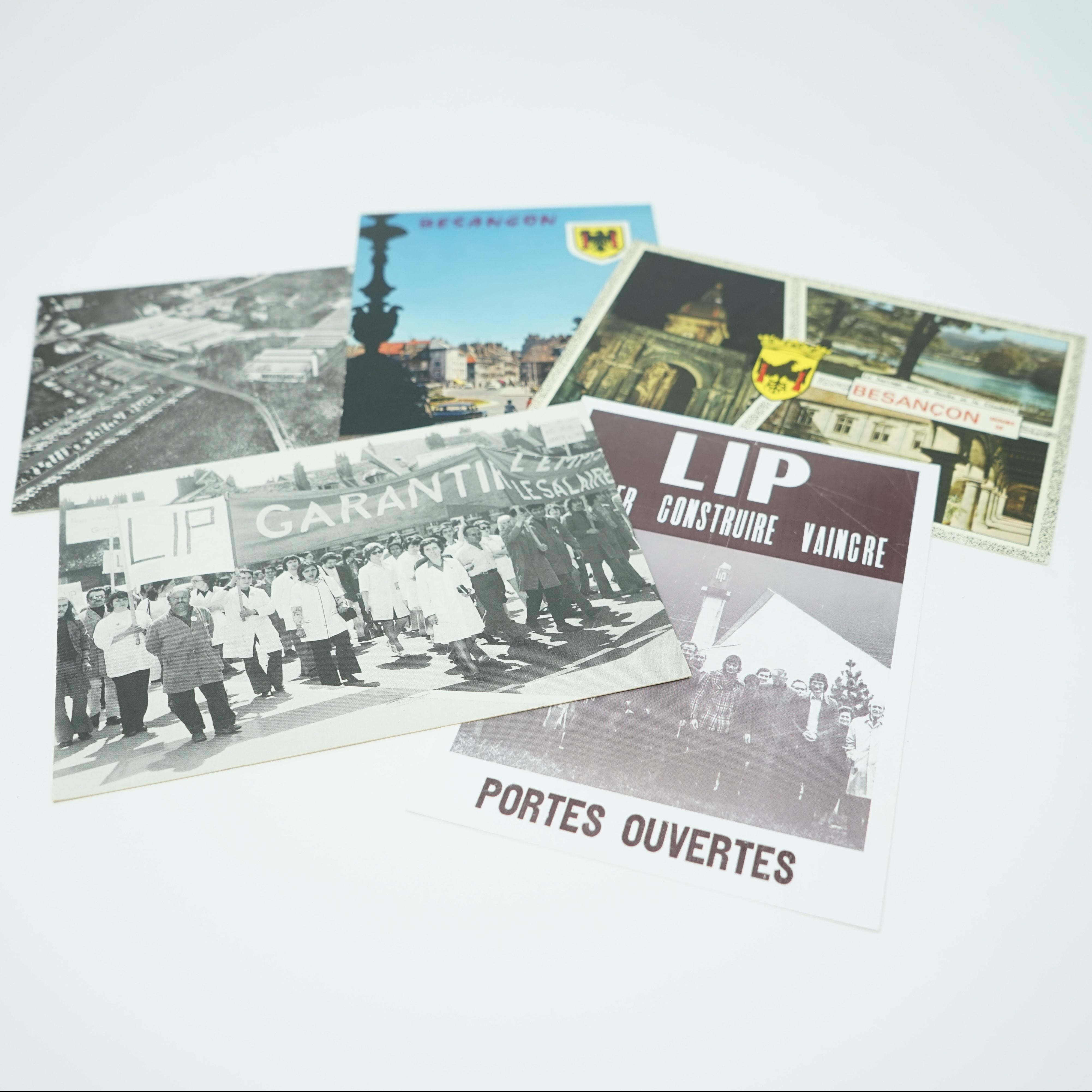 Cinq Cartes Postales Conflit Lip