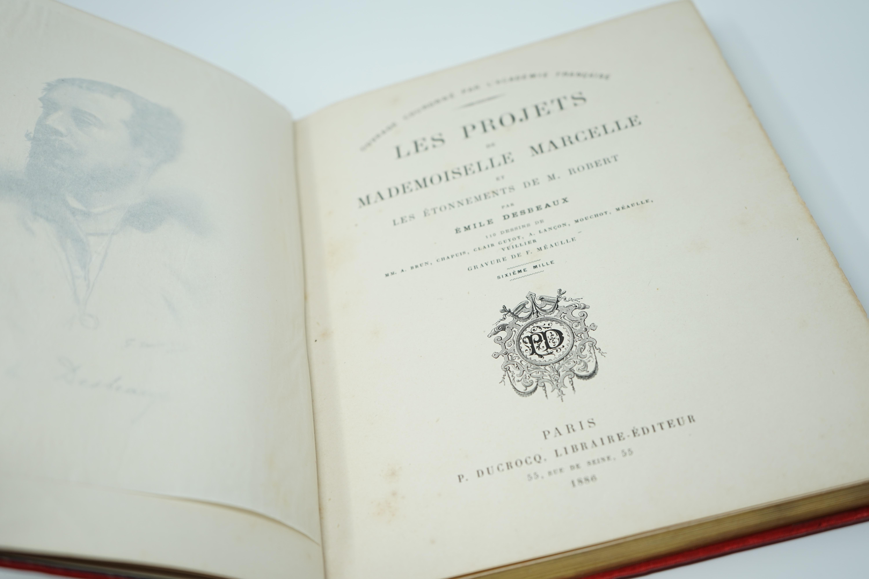 Livre Les Projets de Mlle Marcelle et les Étonnements de Mr Robert Intérieur
