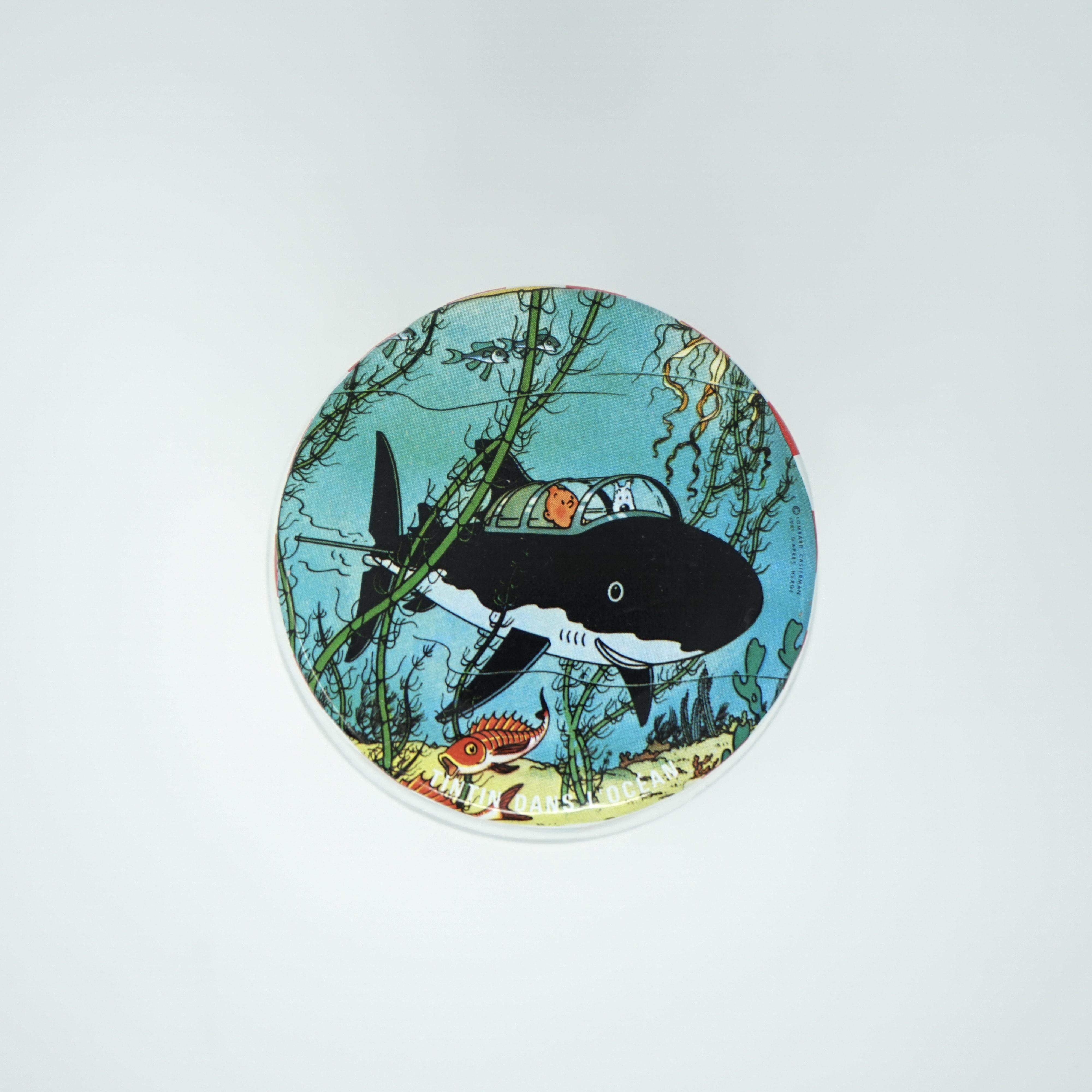 Couvercle Pot Andros Tintin Le Trésor de Rackham le Rouge
