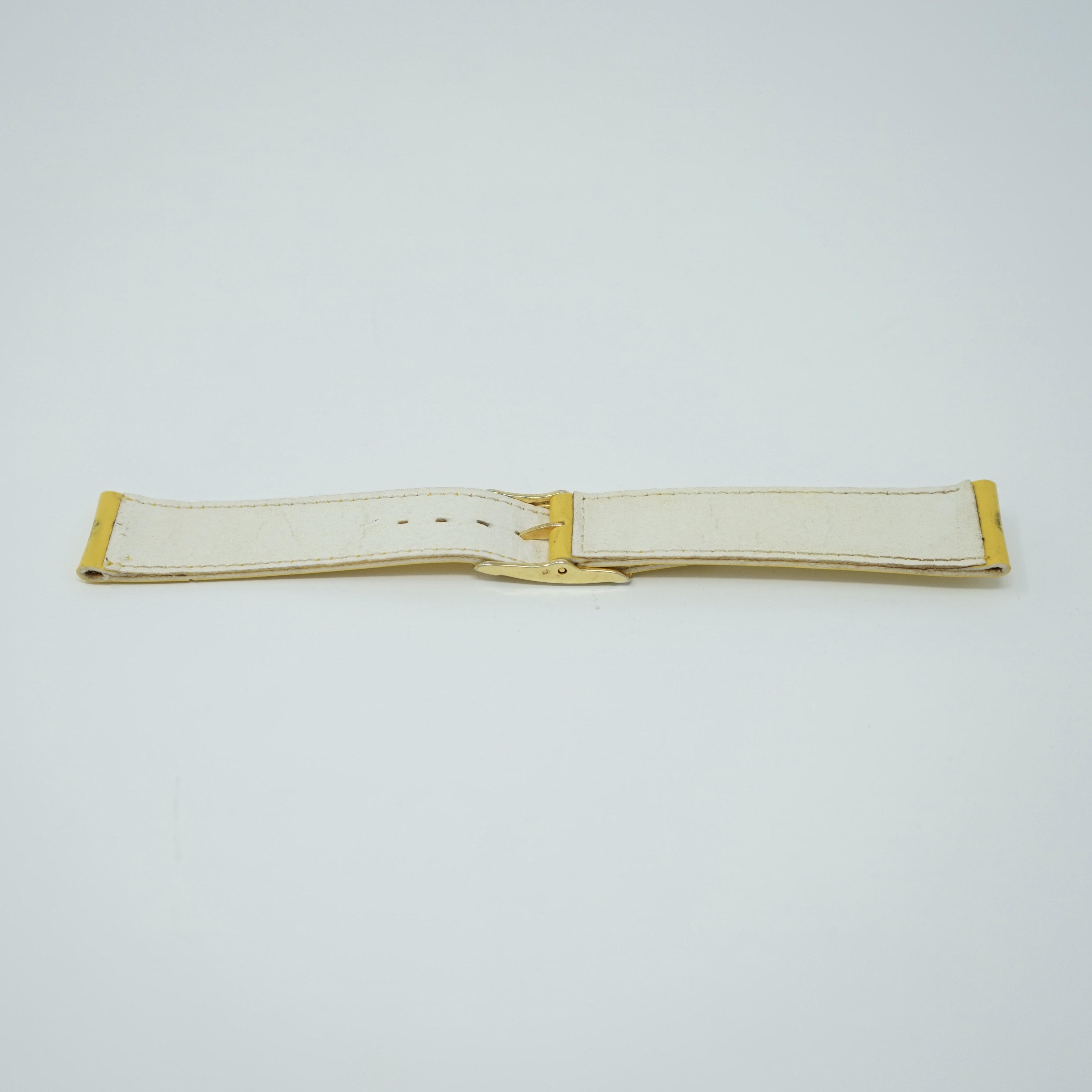 Bracelet LIP Verni Jaune 19mm Arrière