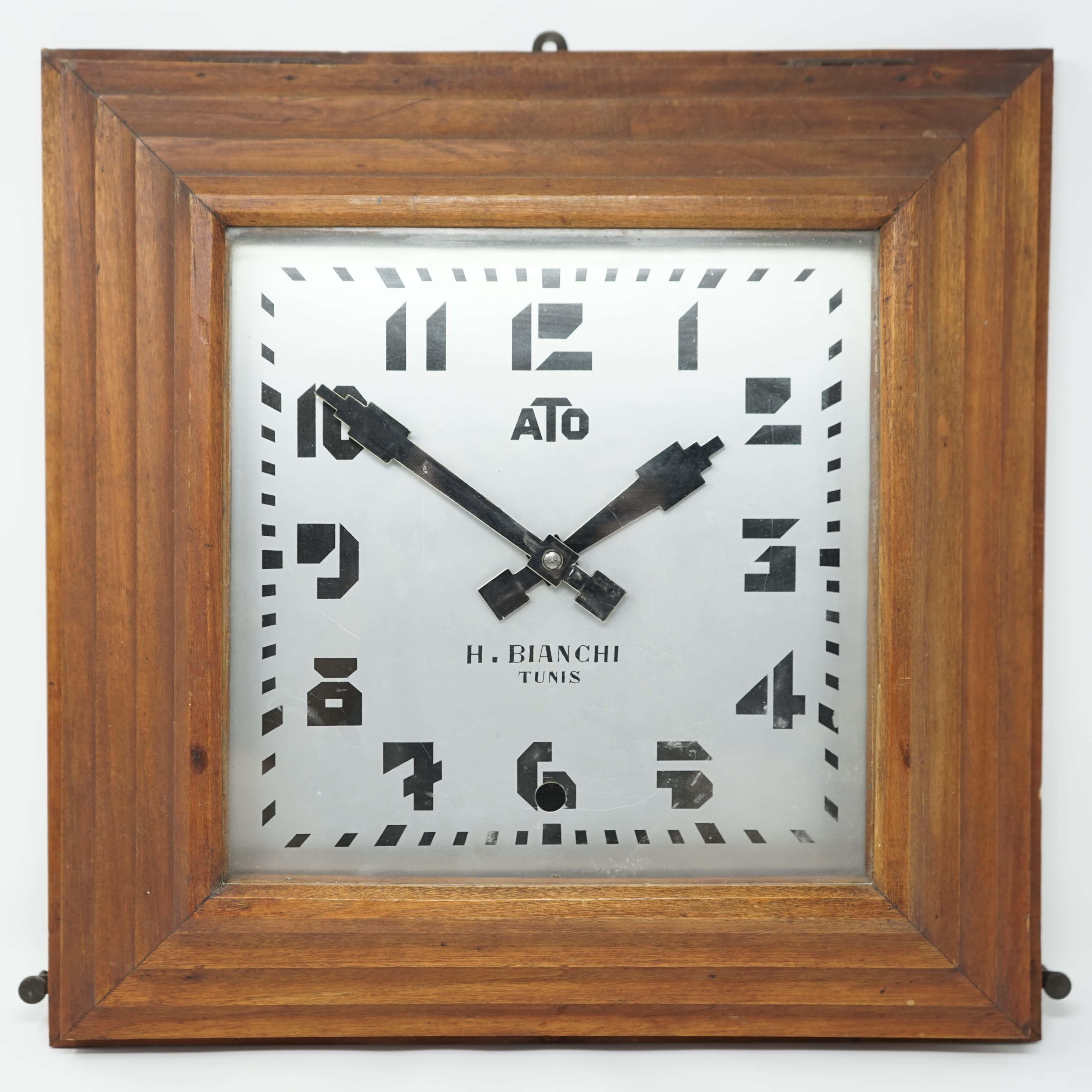 Horloge ATO Ancienne H. Bianchi à Tunis
