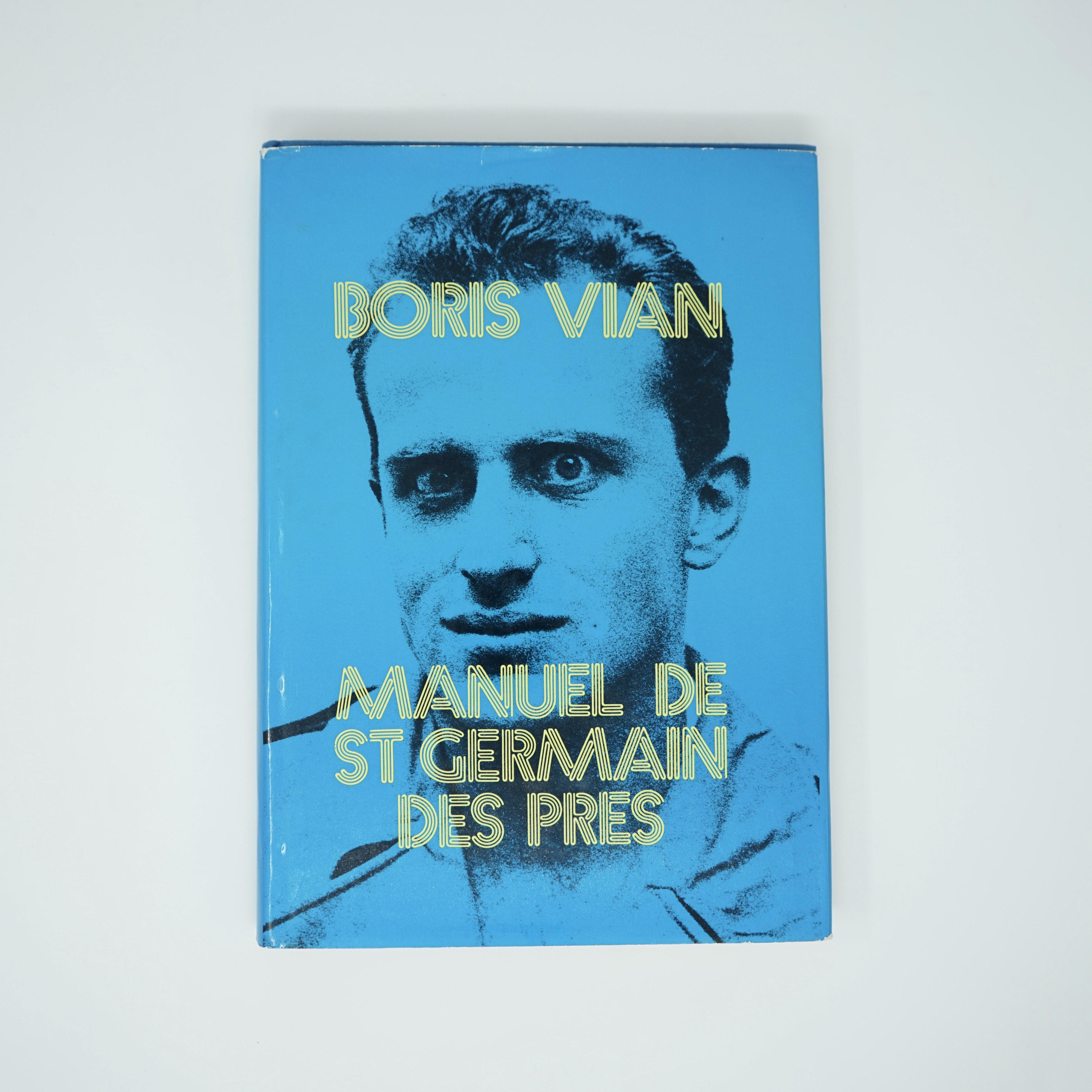Manuel de St Germain Des Près Boris Vian Couverture