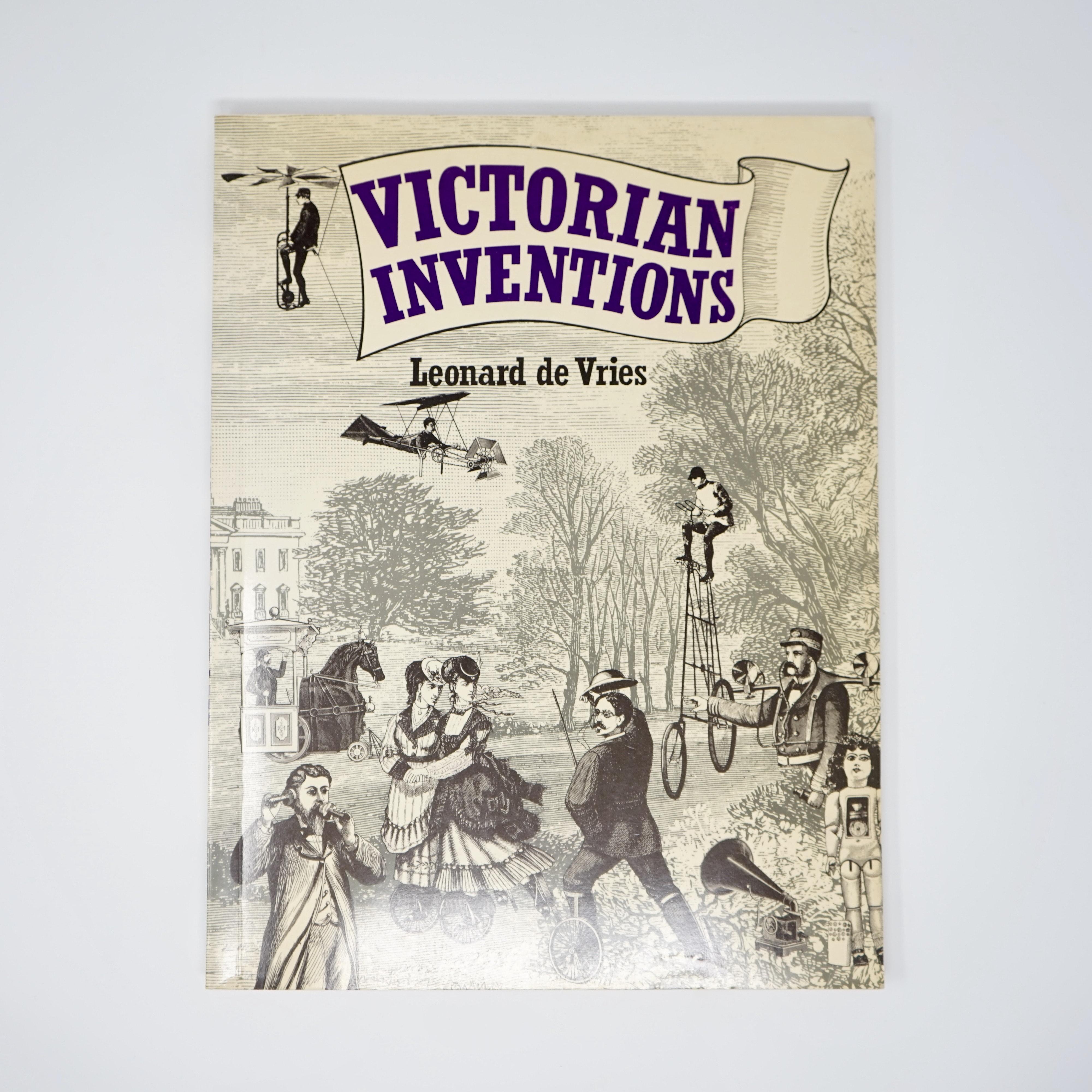 Livre Victorian Inventions Leonard de Vries Couverture