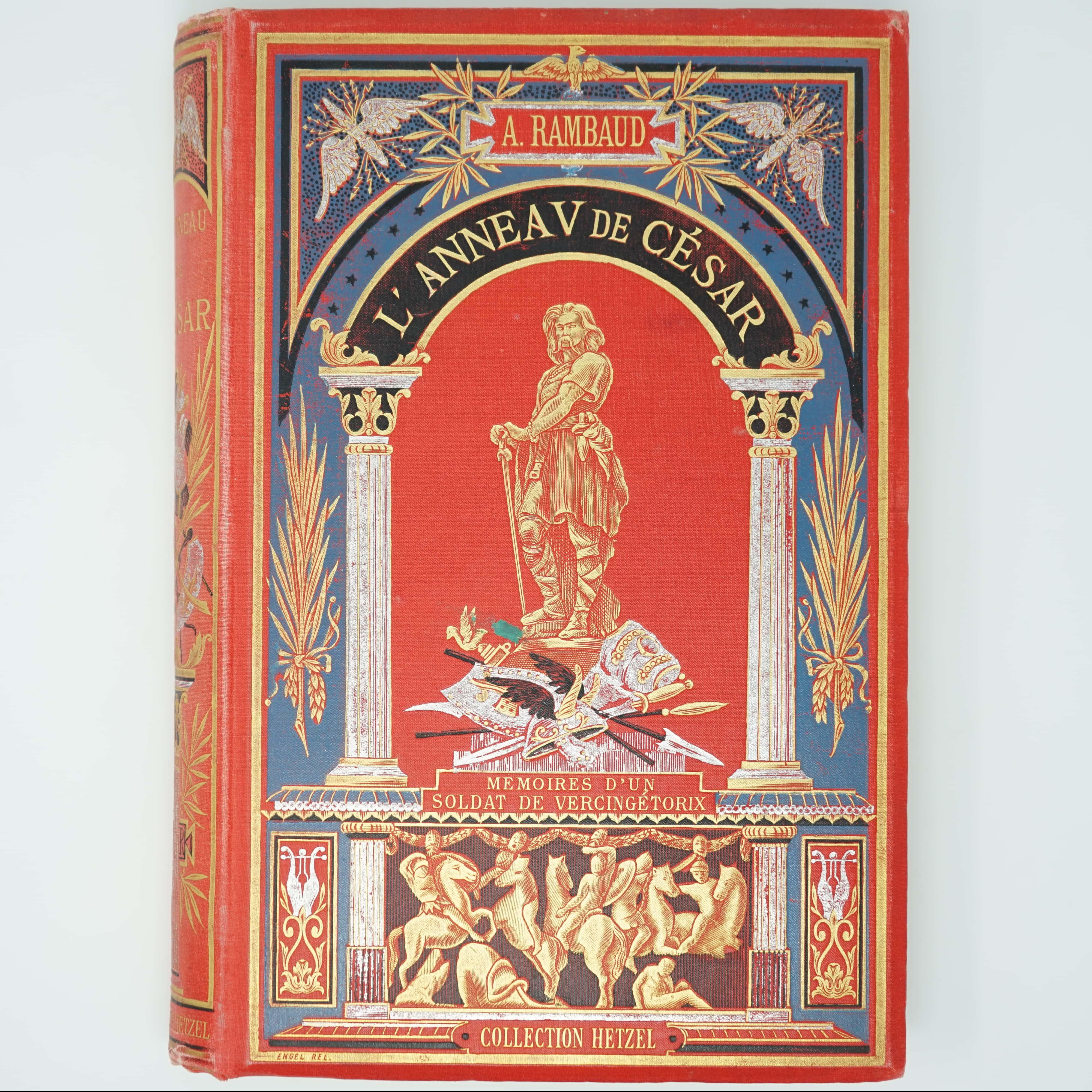 Livre L'Anneau de César couverture