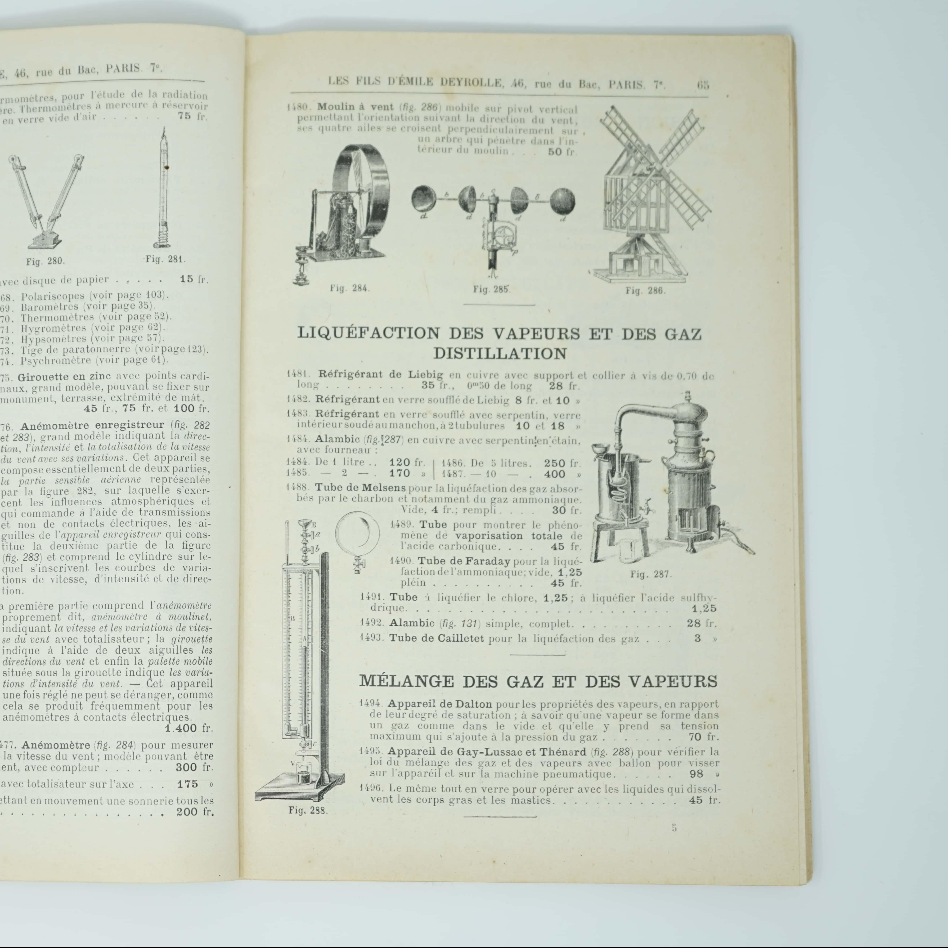 Catalogue d'Instruments Physique de Précision intérieur
