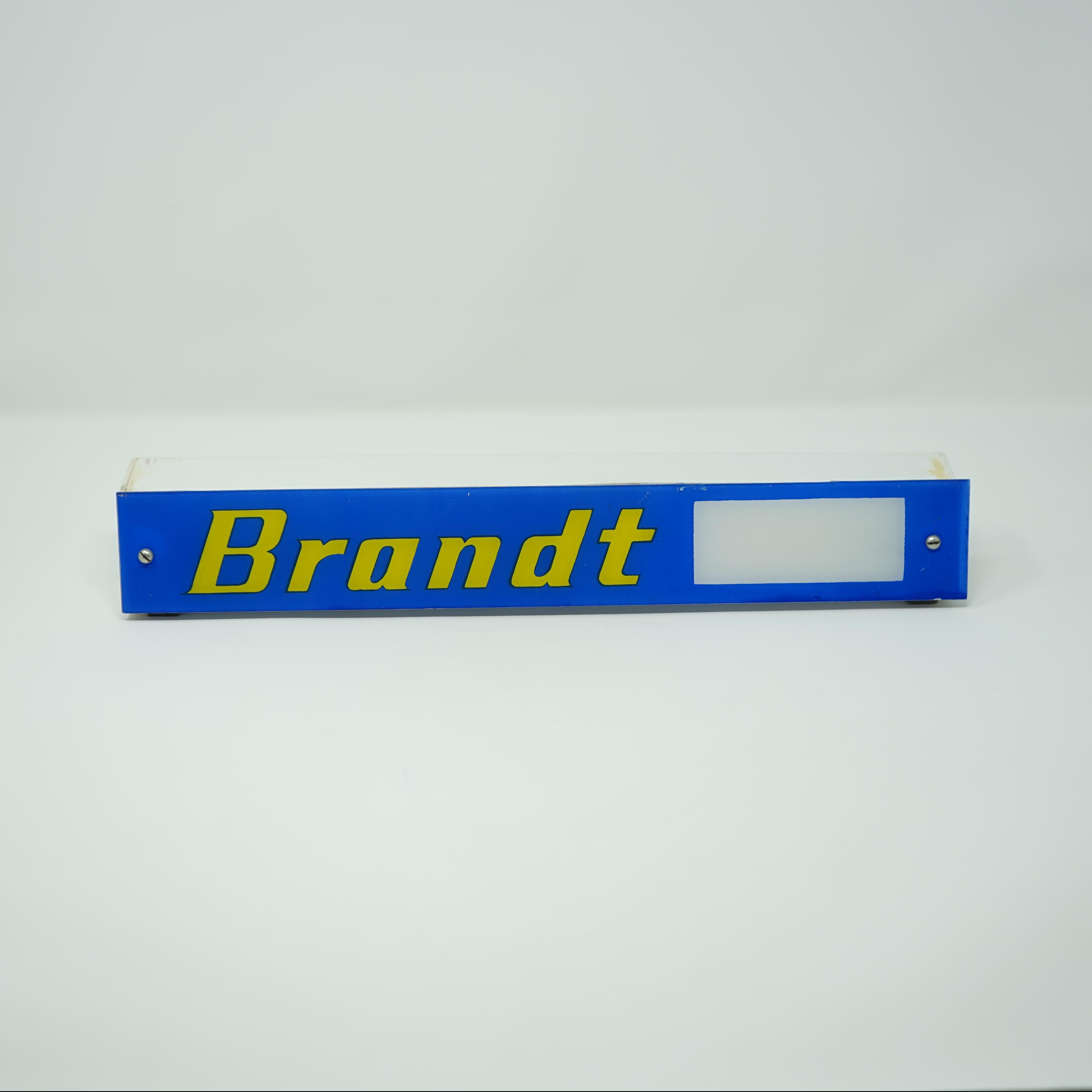 Enseigne Lumineuse Brandt