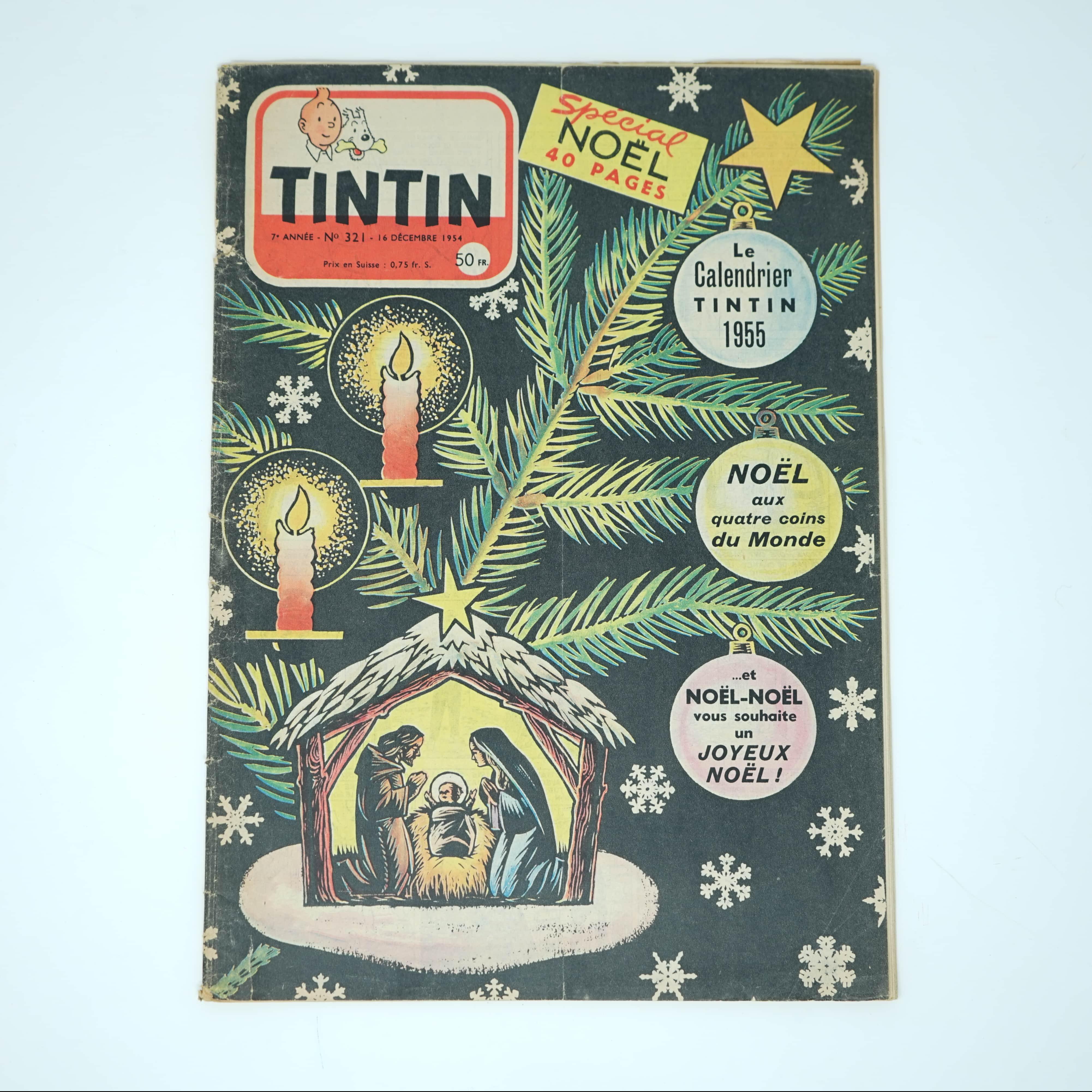 Revue Tintin Spécial Noël 1954