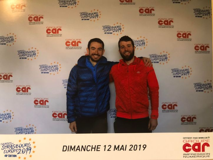 Pierrick et Julien au Stand photo