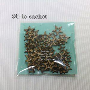 découpe bois étoiles Sagapo Scrap